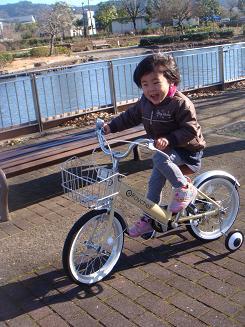 りなの自転車
