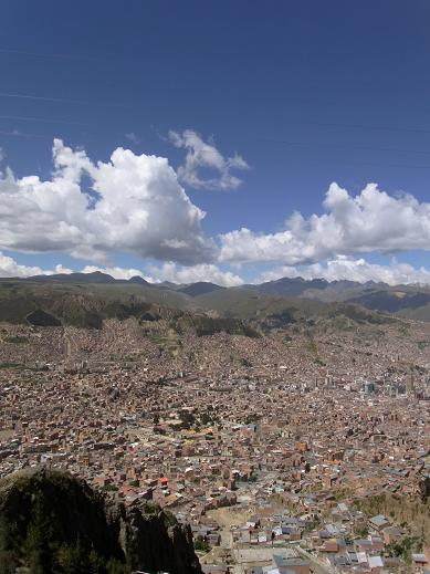 view from el alto