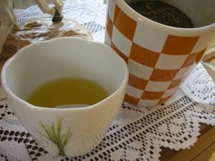手作りのお茶
