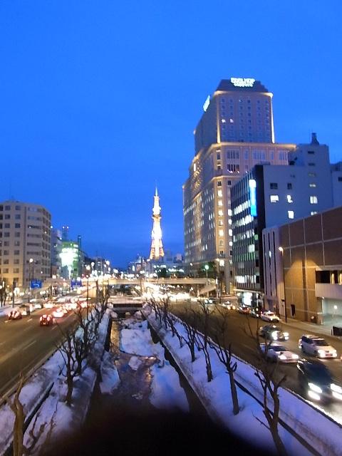 2010年3月_札幌夕景