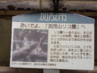 09.リス園案内看板
