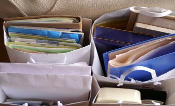 書類整理 第一段階