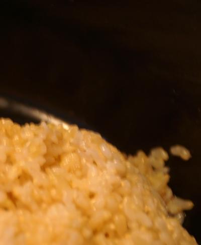 圧力鍋 玄米1