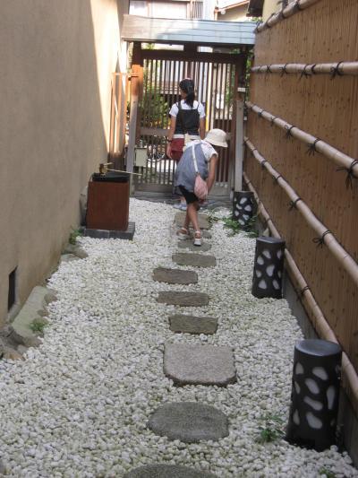 永楽荘 1階 小道