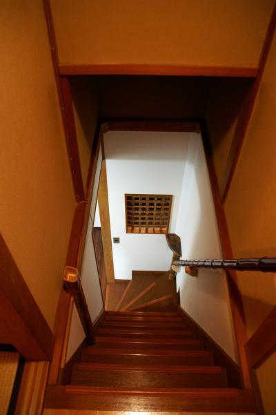 永楽荘 階段