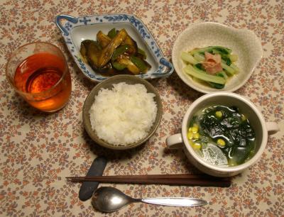 20101018晩ご飯