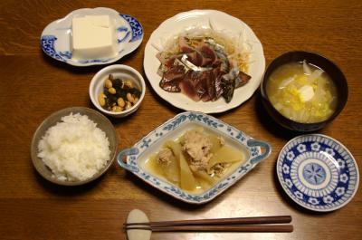 20101019晩ご飯