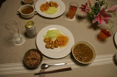 20101020晩ご飯