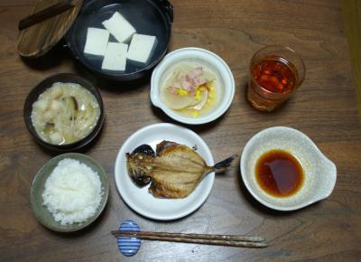 20101021晩ご飯