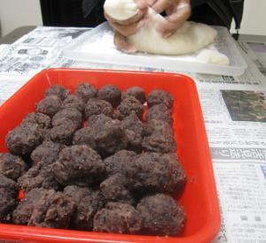 20101229実家 餅つき