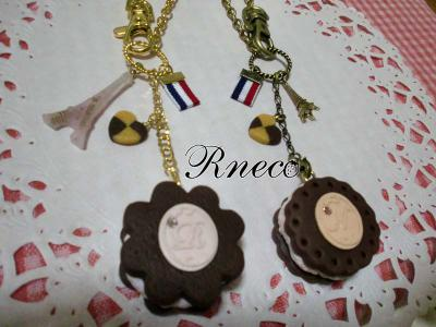 cookiesand bag charm