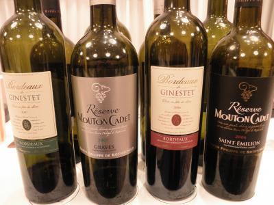 協会セミナー試飲ワイン01