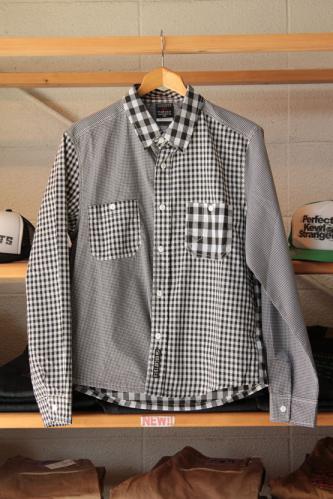 ギンガムクレイジーシャツ1
