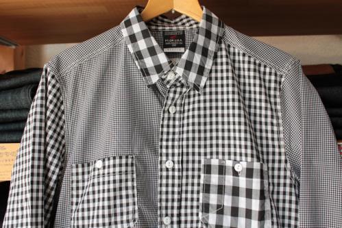 ギンガムクレイジーシャツ3