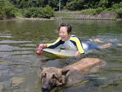 カリュウ和子 泳ぎ2