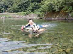カリュウ和子 泳ぎ1