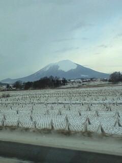 岩手山(平野から)