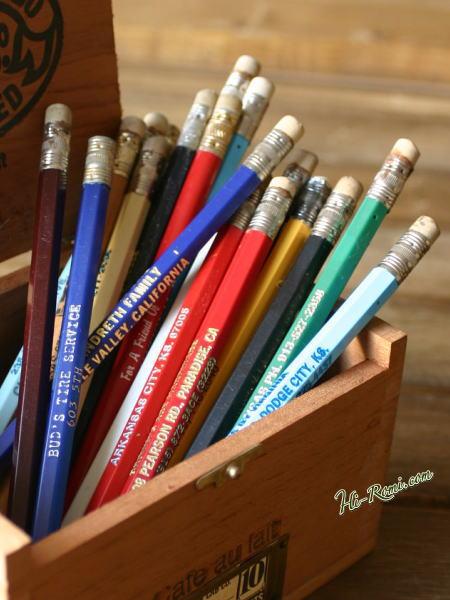 アメリカ ヴィンテージのアドバタイジング(広告)入りの鉛筆? 1