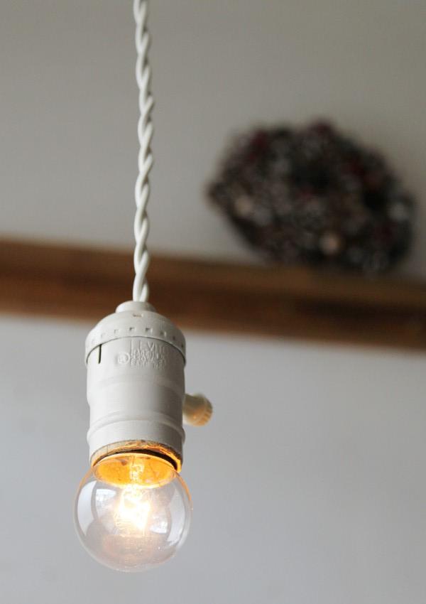 アルミ製ホワイトソケットペンダントライト/アメリカアンティークランプ照明