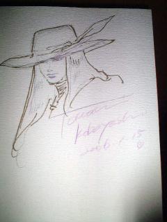 小林智美サイン