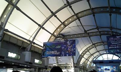 c79国際展示場駅ガンダム00