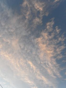 2011.7.14夕方の雲