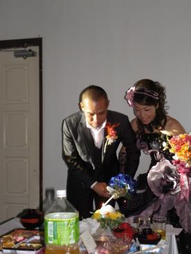 仁美結婚式4
