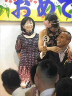 仁美結婚式7