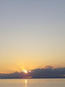 2011.10.12夕日1