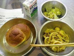 2011.11.2給食参観1