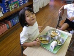 2011.11.2給食参観4