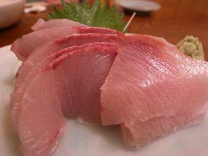 100109魚屋の台所・かんぱち刺身