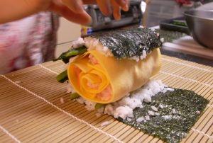 100208まきまき寿司