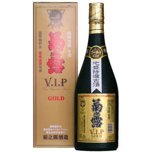 泡盛 菊の露 菊之露VIPゴールド古酒30度720ml
