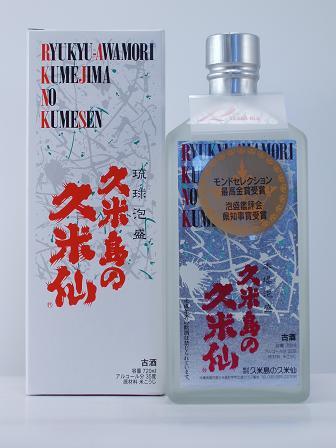 久米島の久米仙ホワイト12年古酒35度720ml