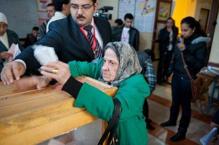 エジプト人民議会(下院)選挙の第1回投票