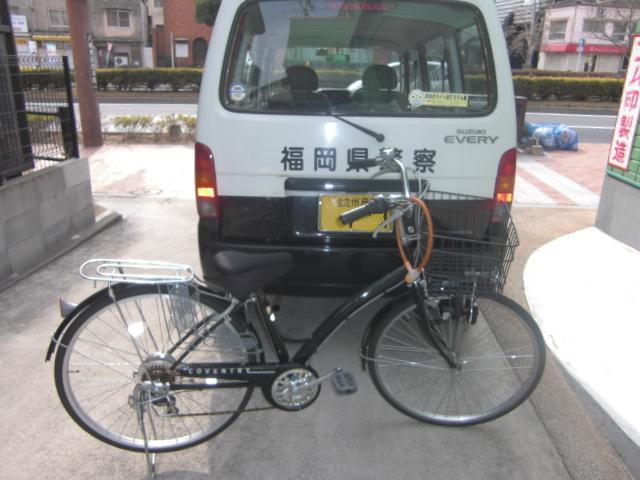 自転車帰ってきた (3)