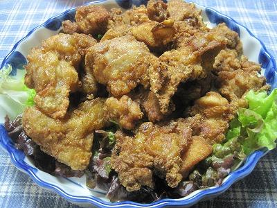 本格的な日本食--鶏のから揚げ』 簡単レシピ