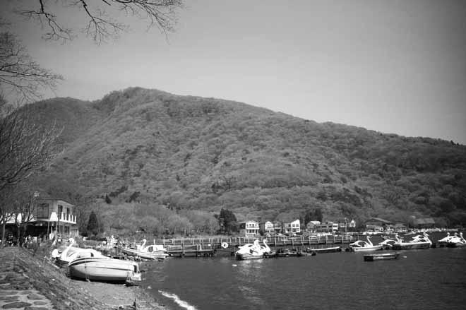 箱根(湖畔)