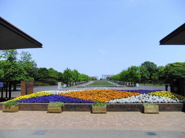 昭和記念公園1〔フリー写真〕