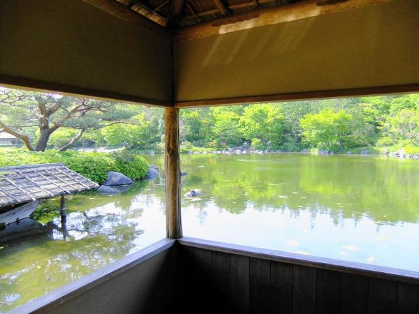 昭和記念公園・日本庭園4〔フリー写真〕