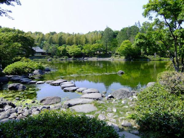 昭和記念公園・日本庭園6〔フリー写真〕