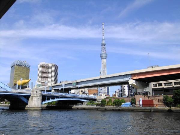 隅田川クルーズ3〔フリー写真〕