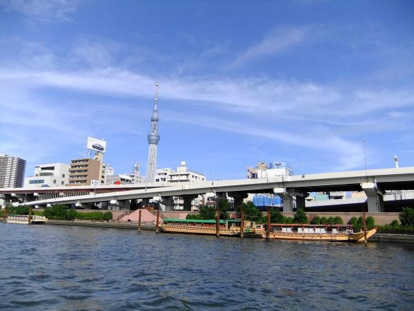 隅田川クルーズ4〔フリー写真〕