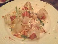 スプーンダイニング 鮮魚のカルパッチョ