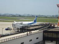 伊丹空港 ボーイング787 ①