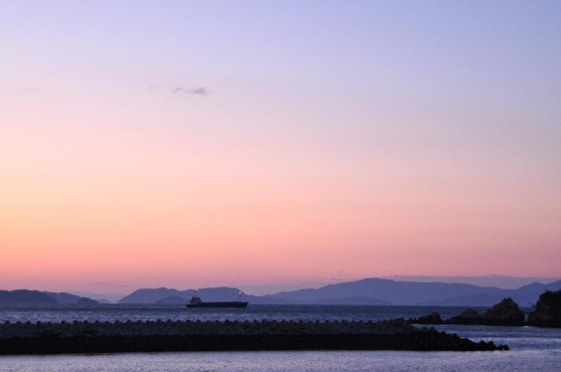 松山市(旧北条市) 風早の郷 風和里 海岸