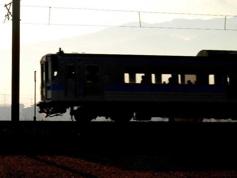 西条市 予讃線 ワンマン電車