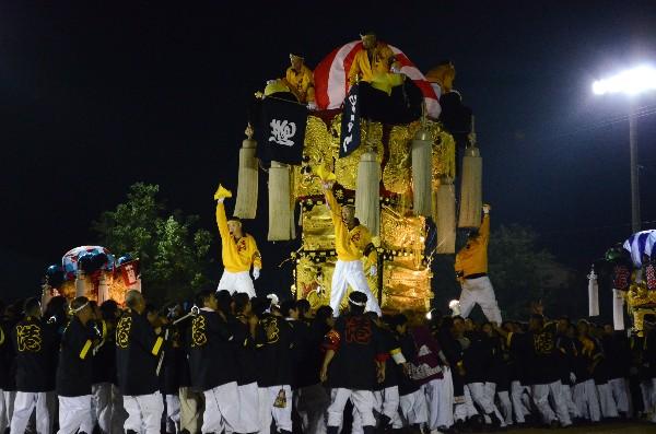 坂出市林田町 林田ふるさと祭り 港太鼓台