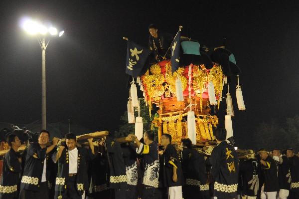 坂出市林田 林田ふるさと祭り 大洲太鼓台